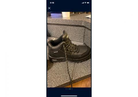 Reebok steel toe boots