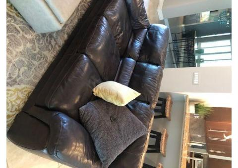 Living Room Couch and Love Seat